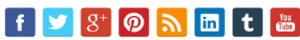 image of social share buttons