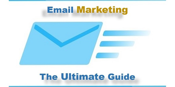 image showing the title Email marketing the ultimate guide