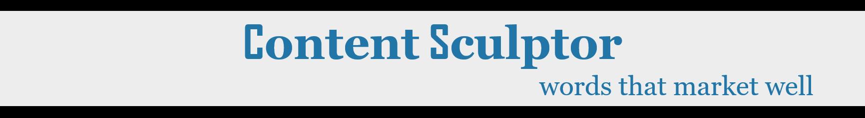 content sculptor brand name
