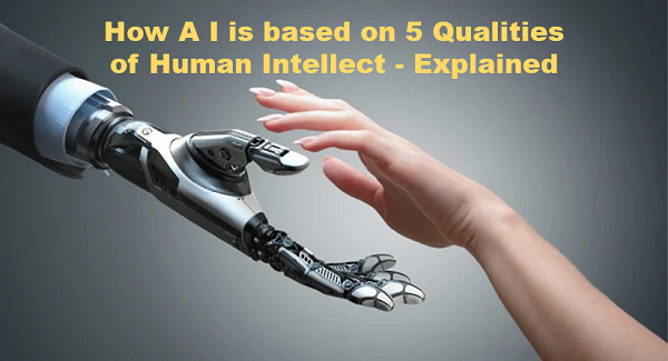 Title - How A I is Based on 5 Qualities of Human Intellect - Explained.